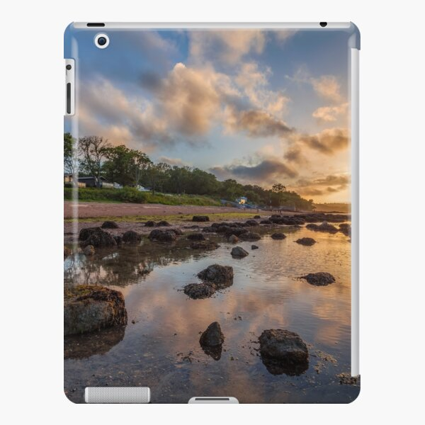 Woodside Lodge Retreat Sunset Isle Of Wight iPad Snap Case