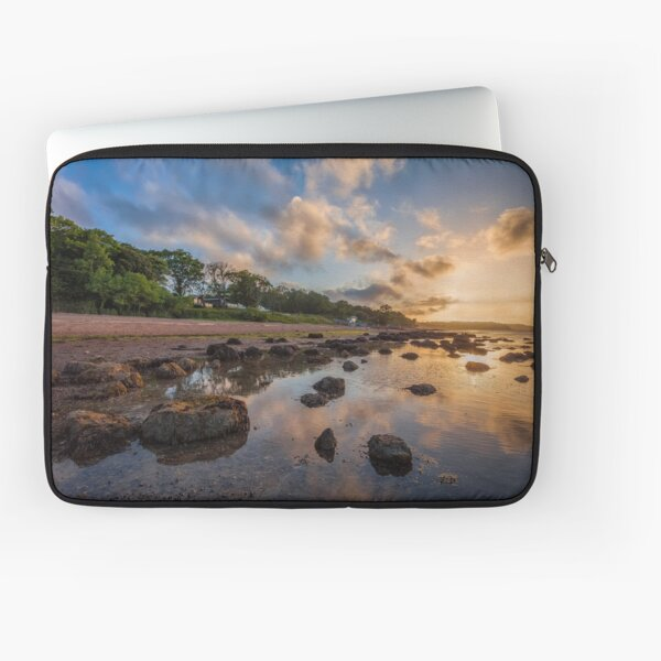 Woodside Lodge Retreat Sunset Isle Of Wight Laptop Sleeve