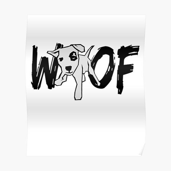 Lustiges Hundeliebes-Schuss-Entwurfs-Neuheits-Geschenk Poster