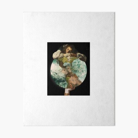 Our Little Life Is Rounded In Sleep Art Board Print
