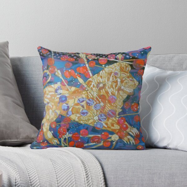 Sickle of Leo Throw Pillow
