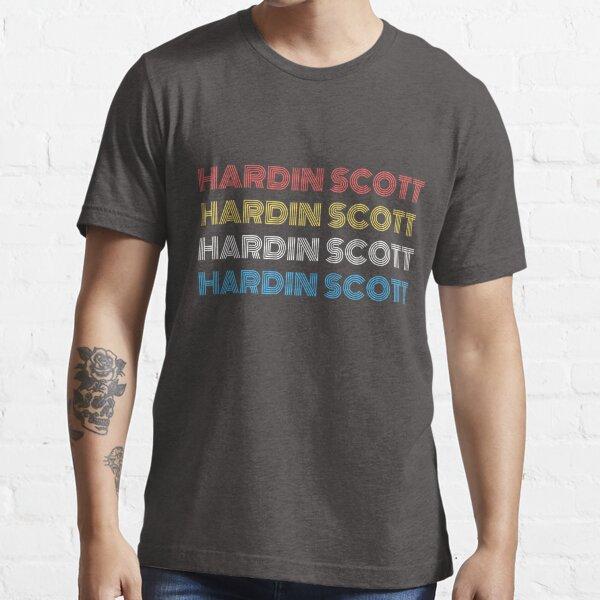 Hardin Scott Retro Camiseta esencial