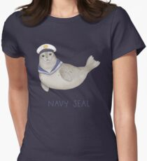 Navy Seal Womens Fitted T-Shirt