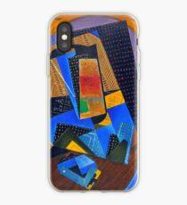 "Juan Gris ""Verre et carte à jouer (Glass and playing card)"" iPhone Case"