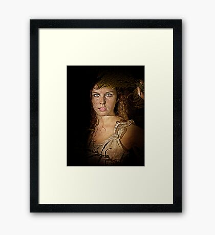 Freyja, Queen Of The Valkyrie Framed Print