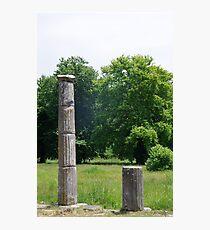 Ancient Columns Photographic Print