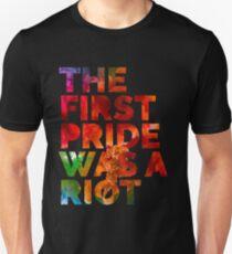 Camiseta ajustada Pride Parade Shirt NYC 50th Anniversary Gay LBGTQ Derechos