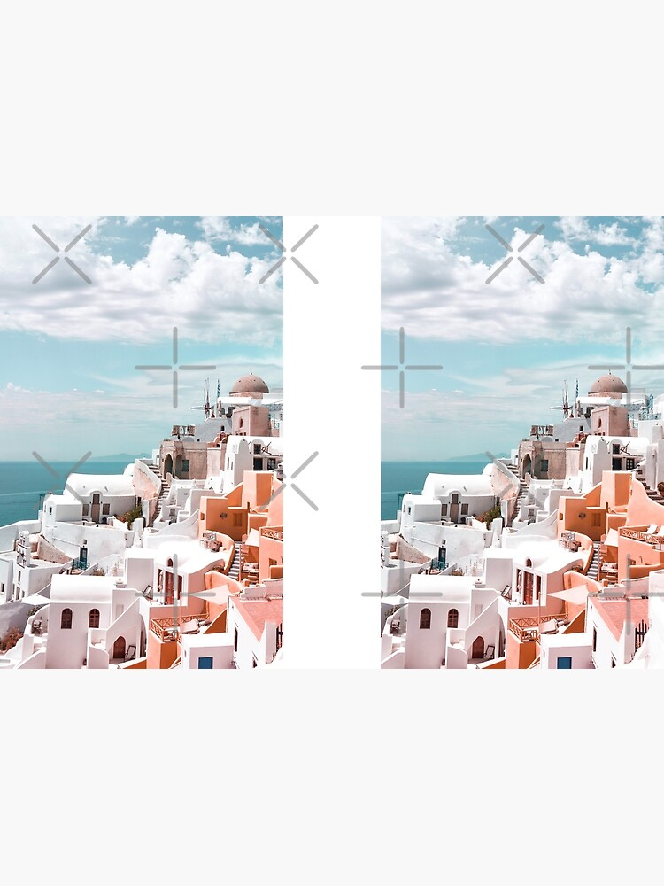 Santorini Oia Greece by PrintsProject