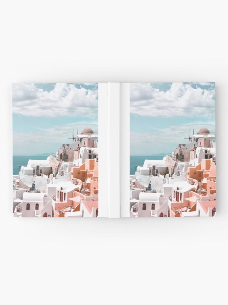 Alternate view of Santorini Oia Greece Hardcover Journal