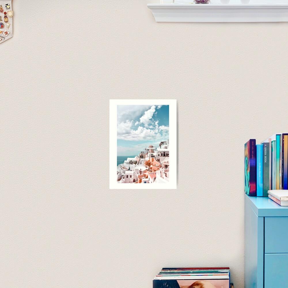 Santorini Oia Greece Art Print