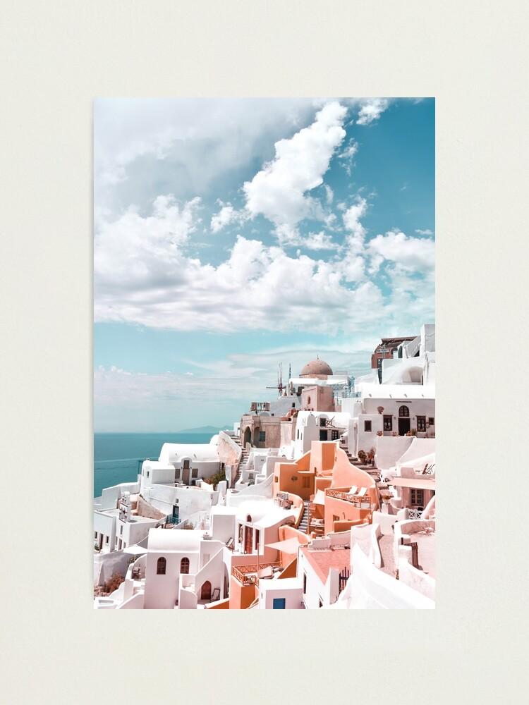 Alternate view of Santorini Oia Greece Photographic Print