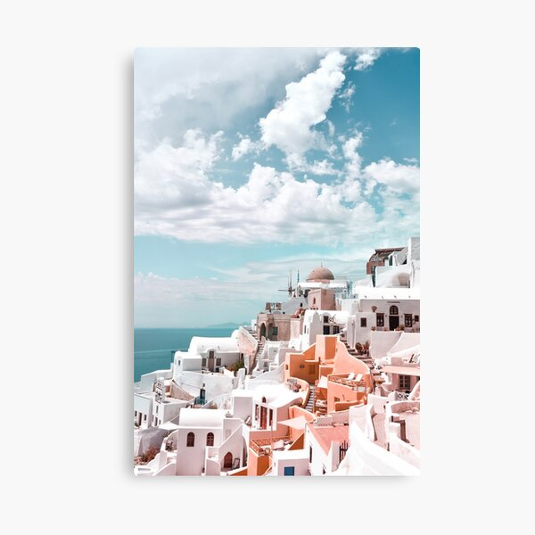 Santorini Oia Greece Canvas Print