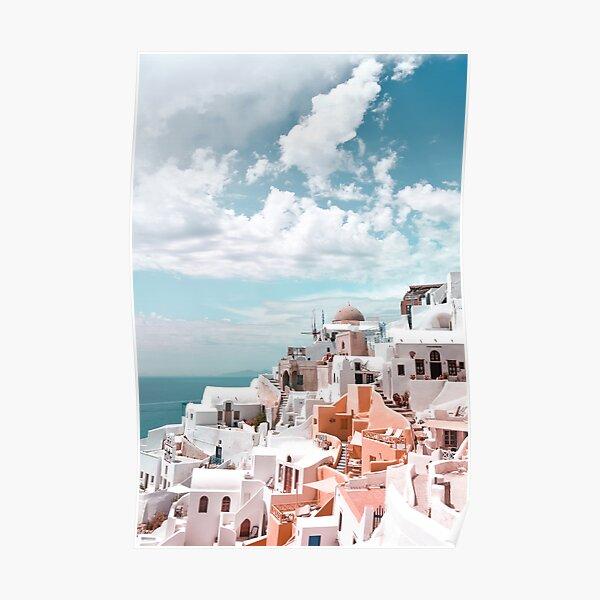 Santorini Oia Greece Poster