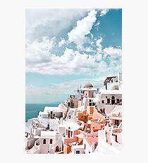 Santorini Oia Greece Photographic Print