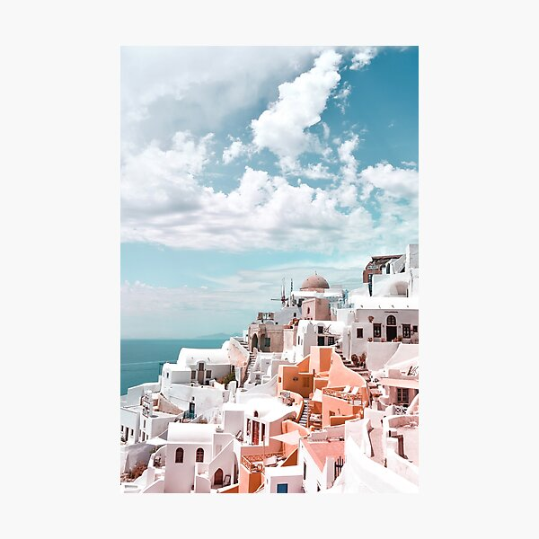 Santorini Oia Greece Photographic Print