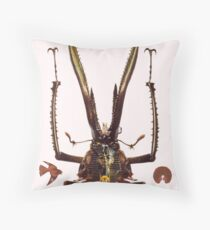M Blackwell - The Guru... Throw Pillow