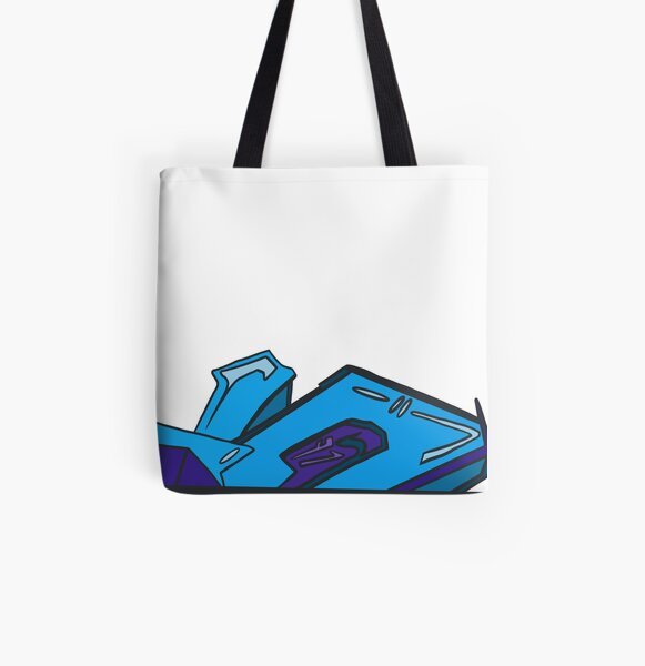 Blue Piece All Over Print Tote Bag