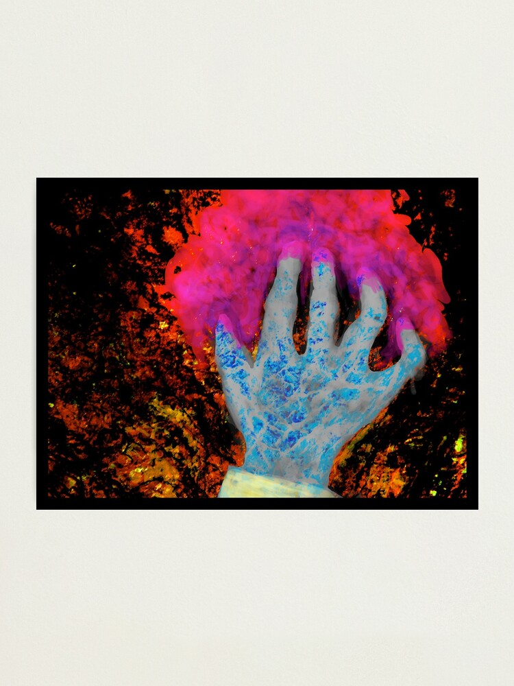 Alternate view of The Hand Photographic Print