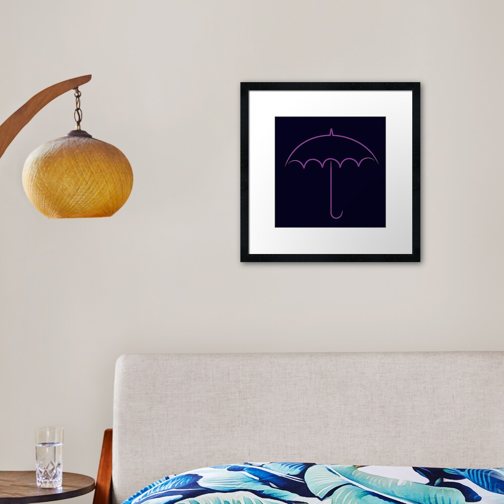 Oswald's club Framed Art Print