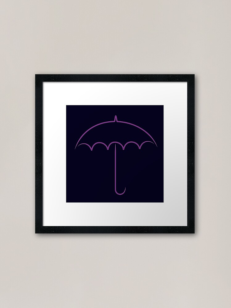 Alternate view of Oswald's club Framed Art Print