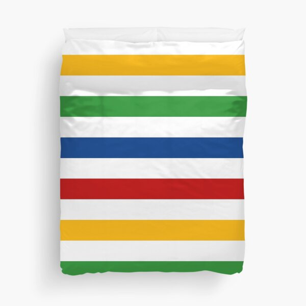 Classic Colour Stripes Duvet Cover