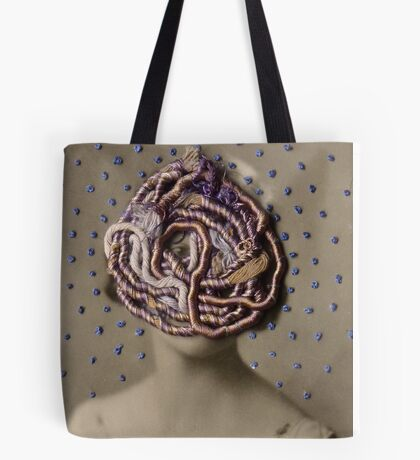 Water Woman, embroidered photo Tote Bag