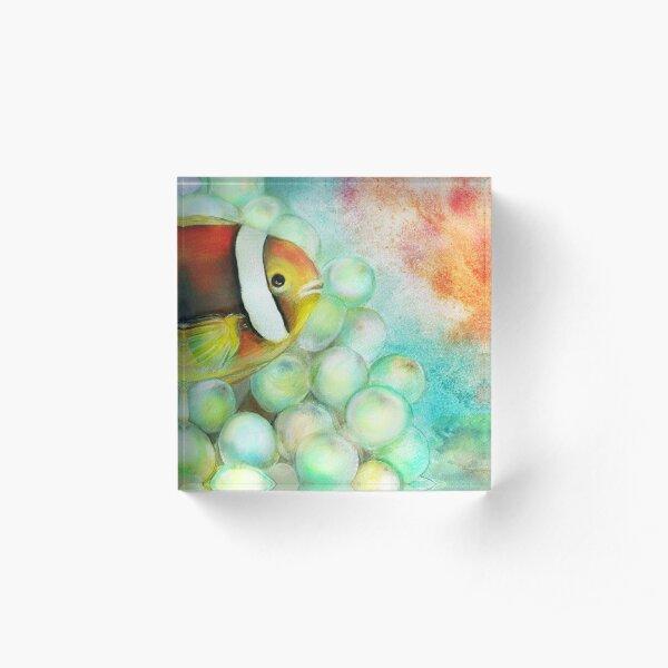 Bubble Trouble Acrylic Block