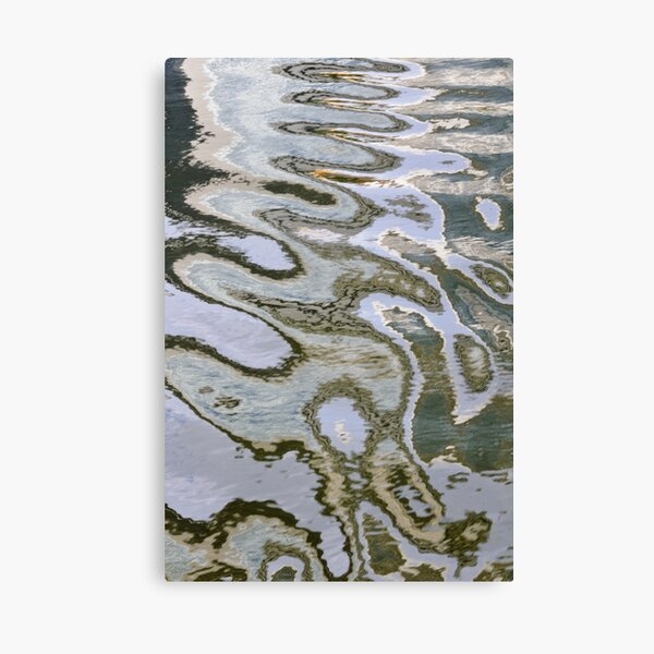 Canal Ripples Canvas Print