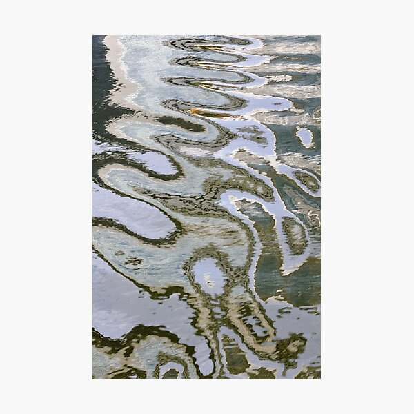 Canal Ripples Photographic Print