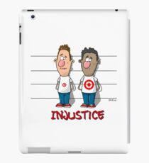 Injustice Design - Hand draw by Cazo  iPad Case/Skin