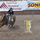 Barrel Racing 1 Pikes Peak or Bust Rodeo by hedgie6