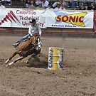 Barrel Racing 2 Pikes Peak or Bust Rodeo by hedgie6