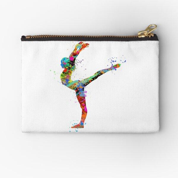 Dancer Pouch Gymnast School Pouch Gymnastics Accessory Pouch Gymnastics Flip Pouch Gymnastics Gift Gymnast and Dancer Accessories