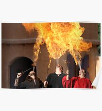 Fire Breathing Fiesta! Poster