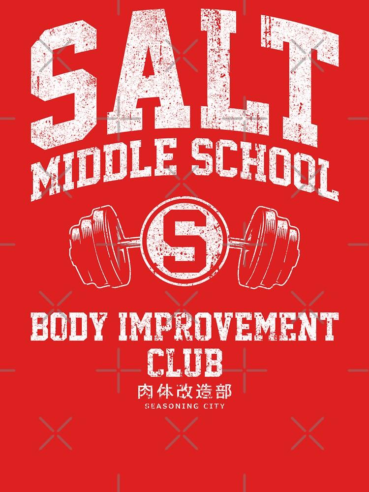 Salt Middle School Body Improvement Club by huckblade