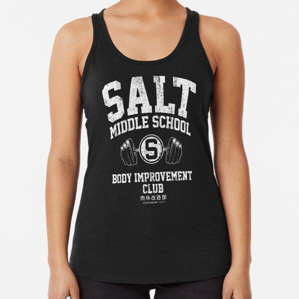 Salt Middle School Body Improvement Club Racerback Tank Top