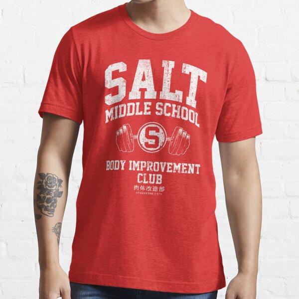 Club de Mejoramiento Corporal de Salt Middle School Camiseta esencial