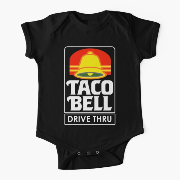 Taco Bell Drive Thru (retro) Short Sleeve Baby One-Piece