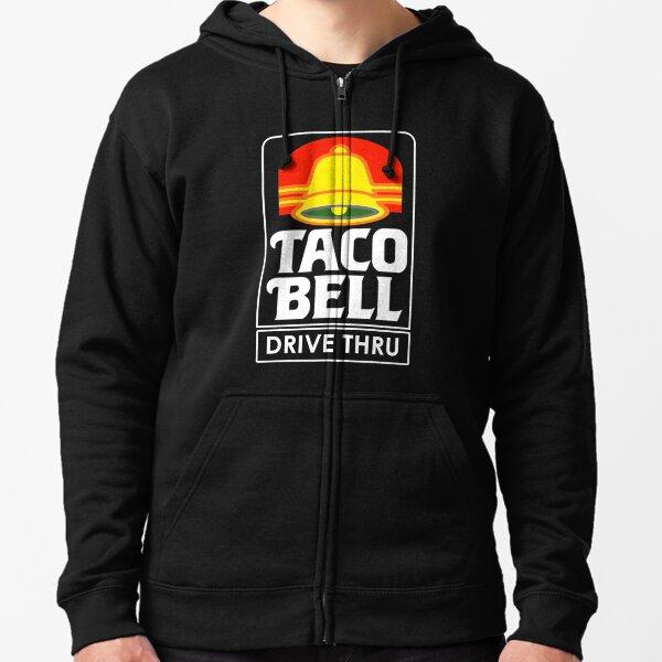 Taco Bell Drive Thru (retro) Zipped Hoodie