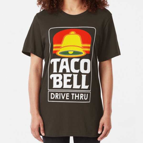 Taco Bell Drive Thru (retro) Slim Fit T-Shirt