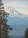 Mt Hood by Karen Ilari