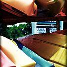 Retro Kayaks by Victoria DeMore