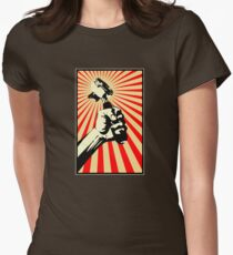 Coffee Revolution! Womens Fitted T-Shirt