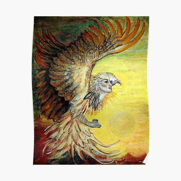 Eagle Visioned Poster