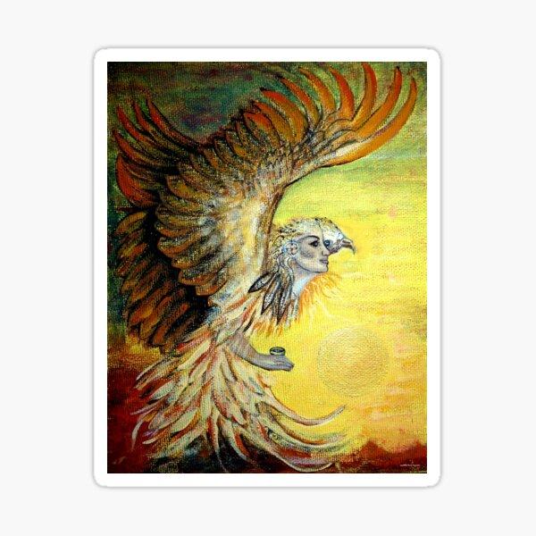 Eagle Visioned Sticker