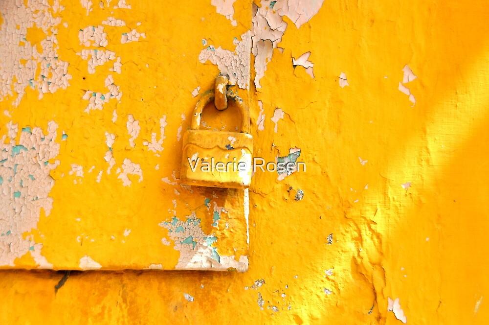 Locked on Yellow by Valerie Rosen