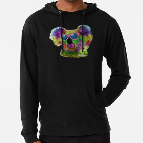 Koala me a rainbow please Lightweight Hoodie