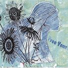 Free Your Mind Mixed Media by pattistudio