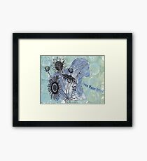 Free Your Mind Mixed Media Framed Print