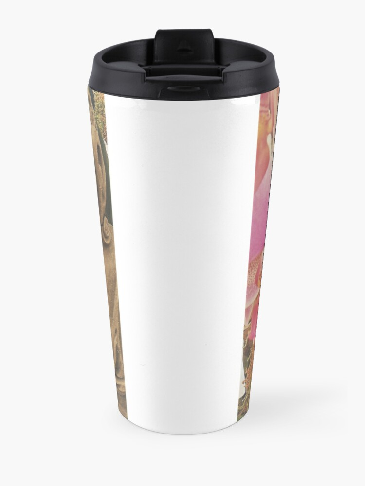 Alternate view of Buddha With Orchid Travel Mug